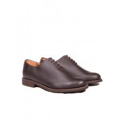 Zapato de piel castaña para hombre Dakota Boots
