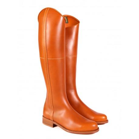 Bota Dakota Boots estilo ecuestre cuero viejo